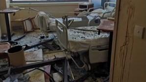 Destruição em Beirute atingiu tudo e todos. Hospital não escapou à violência das explosões