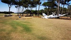 Avioneta cai em campo de golfe em Cascais e faz três feridos