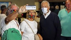 Marcelo preocupado com vaga de incêndios admite interromper férias em Porto Santo