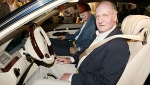 Juan Carlos, rei emérito de Espanha, tem garagem com carros de sonho