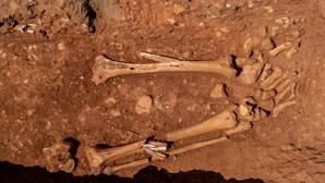 Vestígios arqueológicos descobertos em Alvalade
