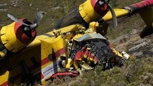 """Socorro a vítimas do Canadair que se despenhou no Gerês chegou """"em 8 minutos"""""""