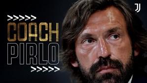 Andrea Pirlo é o novo treinador da Juventus de Cristiano Ronaldo