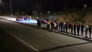 Três homens detidos durante corridas ilegais em Vale de Cambra