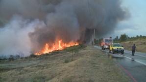 Jovem de 23 anos provoca incêndio de Sernancelhe a reparar polidesportivo com rebarbadora
