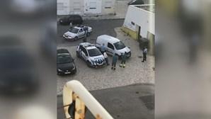 Feto encontrado preso em sistema de filtragem de estação de esgotos em Vila Real de Santo António
