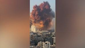Explosivo de Beirute tinha como destino empresa portuguesa