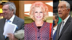 Marcelo Rebelo de Sousa, Lili Caneças e Brito e Cunha ajudam rei Juan Carlos a mudar-se para Cascais