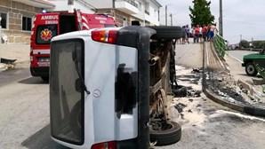 Idoso ferido em despiste de carro em Murça