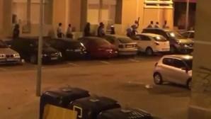 Atacam à pedrada GNR durante ação para desmobilizar a festa ilegal
