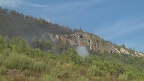 Fogo em Pampilhosa da Serra dado como dominado. Mais de 200 operacionais no terreno