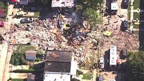 Explosão de gás em Baltimore nos EUA mata uma mulher e faz vários feridos