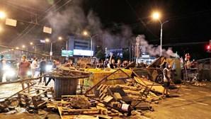 Milhares de pessoas manifestam-se em Minsk, na Bielorrússia
