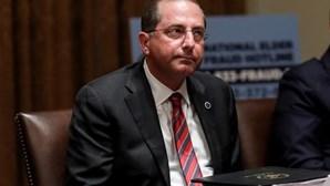Secretário da Saúde dos EUA cético sobre vacina russa contra coronavírus