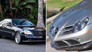 Mercedes S600 de Michael Jordan vale 19,5 euros no eBay