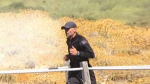 Sérgio Conceição corre 20 quilómetros todos os dias nas férias