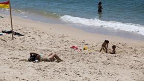 Praia na Figueira da Foz é a que esteve mais vezes lotada na região Centro