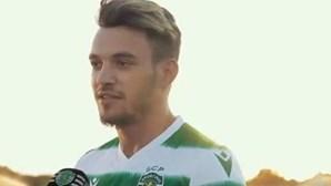 Pedro Gonçalves apresentado como reforço no Sporting