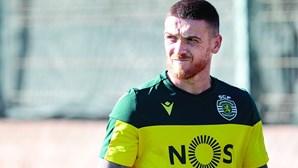 """""""Estejam tranquilos que estou bom"""": Antunes passa palavra de confiança aos sportinguistas"""