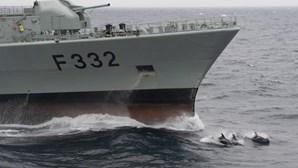 'Guerra Fria' no mar do Norte