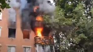 Dois feridos graves após explosão em prédio residencial na Rússia