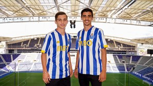 Filhos de Sérgio Conceição reforçam equipa B do FC Porto