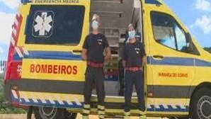 Bombeiros de Miranda do Corvo assistem parto de bebé na A13