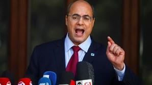 Governador do Rio de Janeiro afastado por corrupção