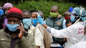 África com mais 117 mortes por Covid-19 e 9.123 infeções nas últimas 24 horas