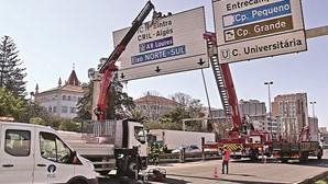 Obras na Segunda Circular em Lisboa começam amanhã