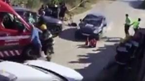 Despiste de carro de competição no Rali Alto Tâmega faz sete feridos