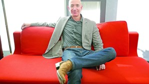 Fortuna de Jeff Bezos já supera os 168 mil milhões