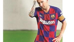Liga com Barça contra Messi na rescisão