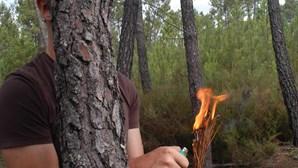 Casal ateava fogos de moto com taxa de 2,89 g/l