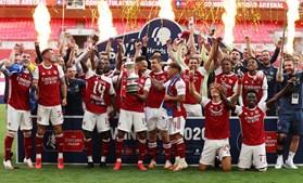 Arsenal conquista 14.ª Taça de Inglaterra com 'bis' de Aubameyang