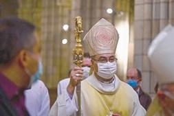 D. Manuel Linda, bispo do Porto, contactou com uma pessoa infetada com Covid-19 e teve de fazer quarentena