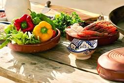 Alimentação deve ser colorida e o mais variada possível