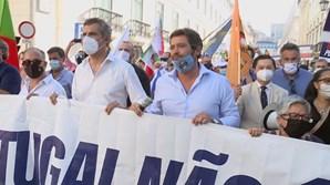 Contramanifestação de direita no domingo em Lisboa convocada por André Ventura