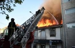 Incêndio consome restaurante no centro de Viseu