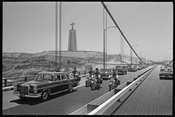 Antiga Ponte Salazar é a atual Ponte 25 de Abril