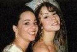 Mariah Carey com a irmã, Allison