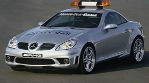 Mercedes-Benz SLK 55 AMG - Safety Car da Fórmula 1