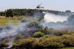 Helicóptero em Torres Vedras