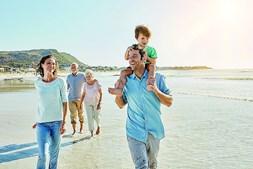 Exercício pode unir a família