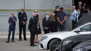 Marcelo, Eduardo Cabrita e a embaixadora de Espanha