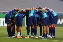 Equipa do Barcelona