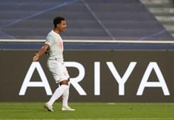 Serge Gnabry celebra o terceiro golo