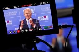 Joe Biden vai fazer o discurso de aceitação da nomeação democrata por videoconferência na quinta-feira