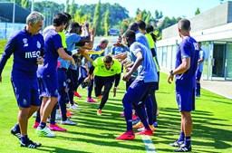 Praxe para os dois reforços do FCPorto,Cláudio Ramos e Carraça