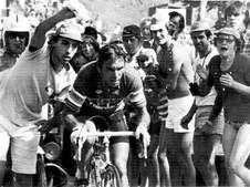 Alpe d'huez. 'tinô', como lhe chamavam os franceses, ganhou a mítica  etapa em 1979, terminando o tour no terceiro lugar.